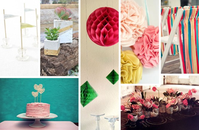 Diy Succulents Centerpieces In Recycled Planters