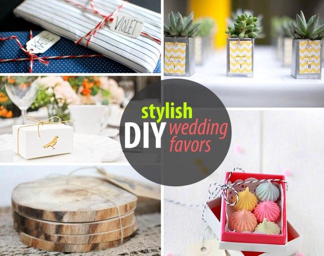Wedding Favours Ideas Handmade Favors Diy Unique