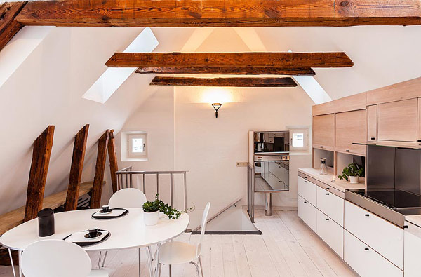 Modern Apartment With Classic Details In Stockholm S Gamla