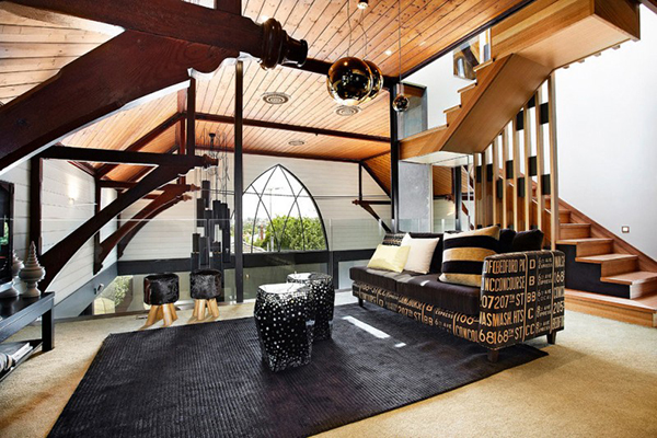 Church Gets A Divine Revamp Turns Into Contemporary Home