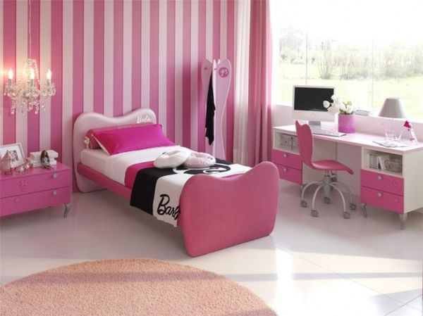 Cute And Cozy S Bedroom Idea In Pink
