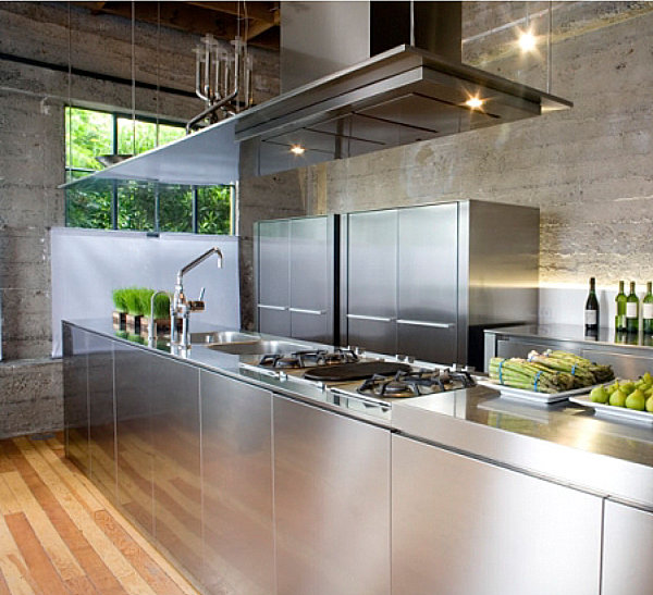 Stainless Steel Kitchen Shiny Metal Decor Your