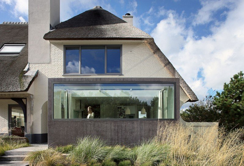 Rustic Dutch Seaside Residence Gets A Modern Makeover