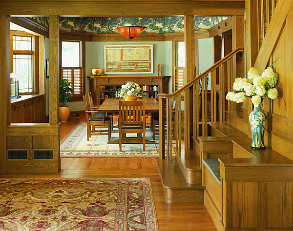 Decor Ideas for Craftsman Style Homes View in gallery Craftsman decor with a tropical touch