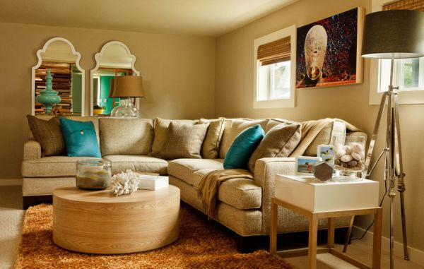 decorating with turquoise colors of