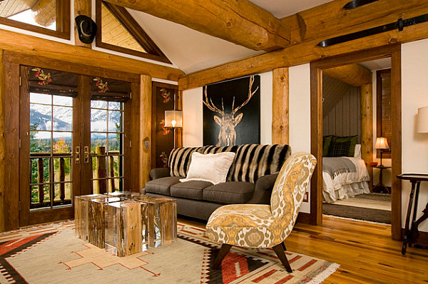 Country Home Decor with Contemporary Flair View in gallery Rustic country living room
