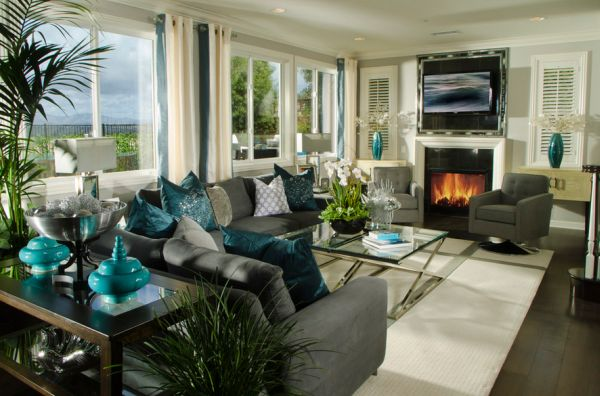 Decorating With Turquoise Colors Of Nature Aqua Exoticness Part 47