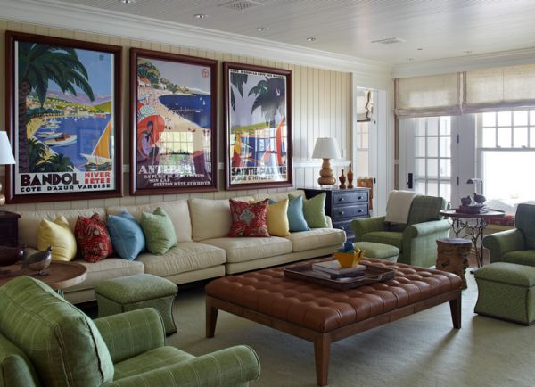 Vintage Posters To Decorate Modern Interiors