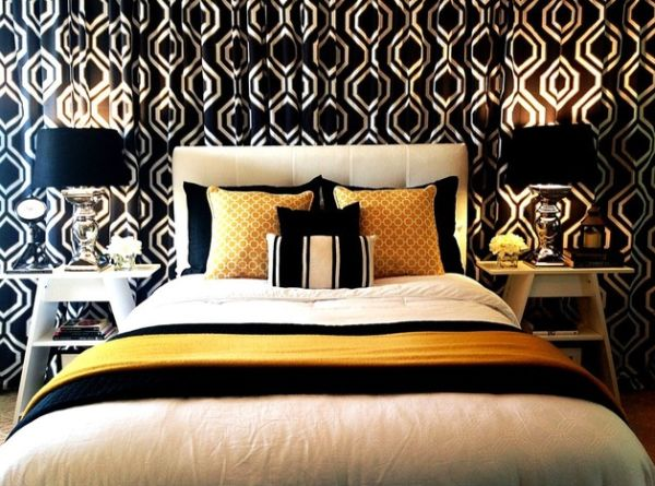title | Black White And Gold Bedroom Ideas