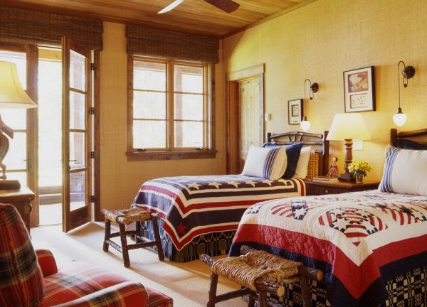 Happy 4th Of July Interiors Inspired By Red White Amp Blue