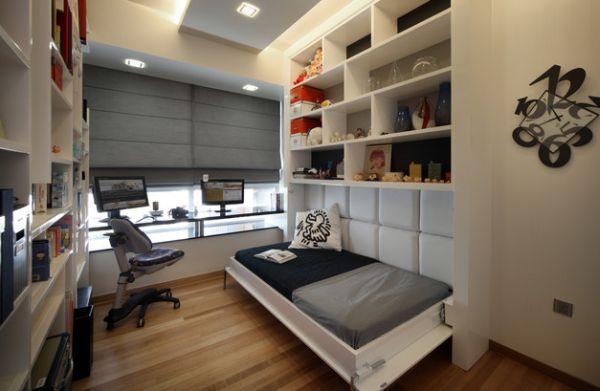 horizontal murphy bed design