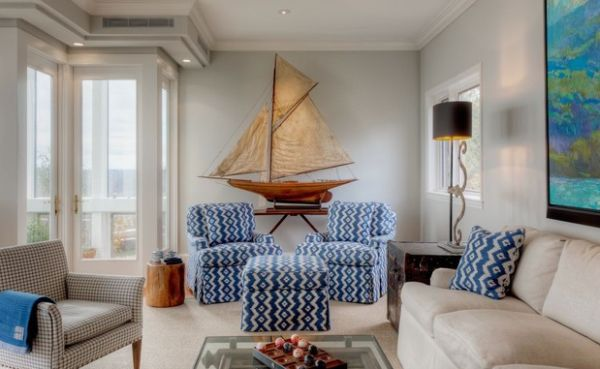 Nautical Decor Ideas Riding The Waves With Sailboats And