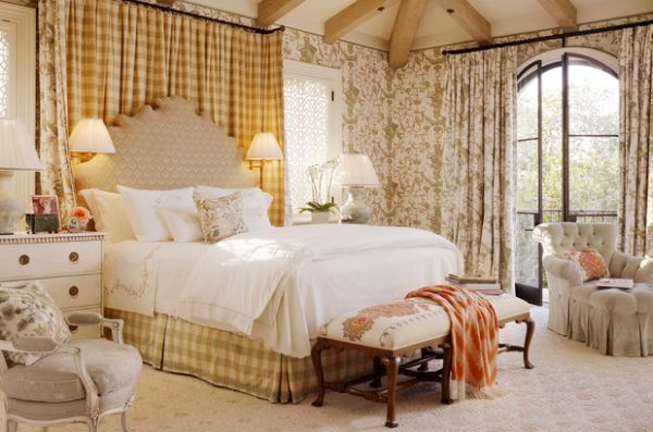 Toile Fabric Add Cool Color And Chic Pattern To