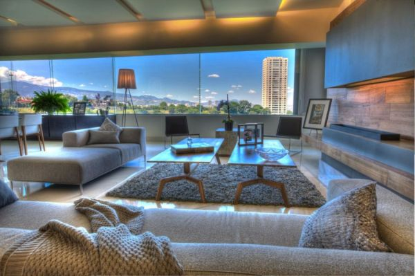 Lavish Interior And Lovely Views Shape P 901 Residence In