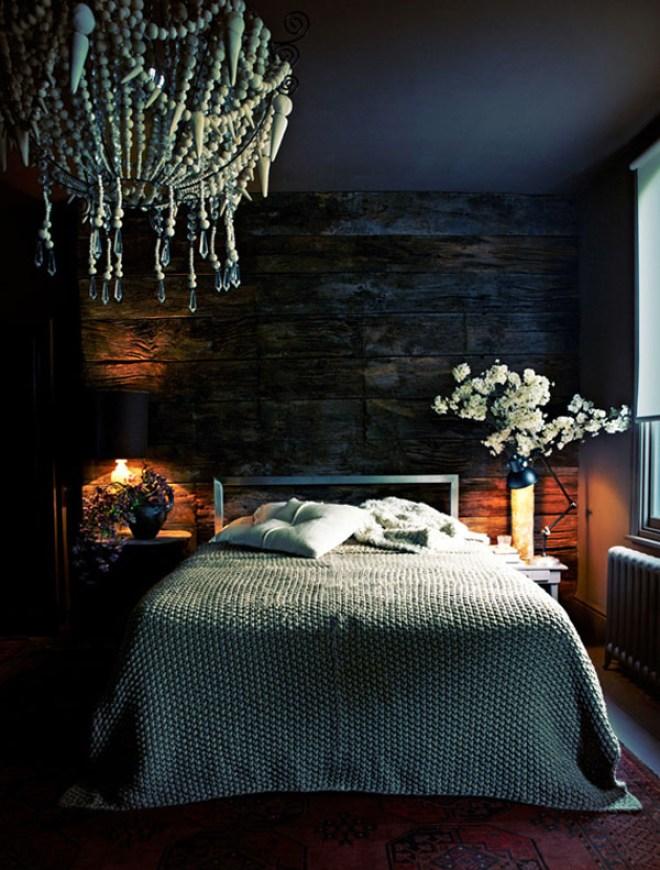 interieur & kleur | donkere kleuren in de slaapkamer • stijlvol, Deco ideeën