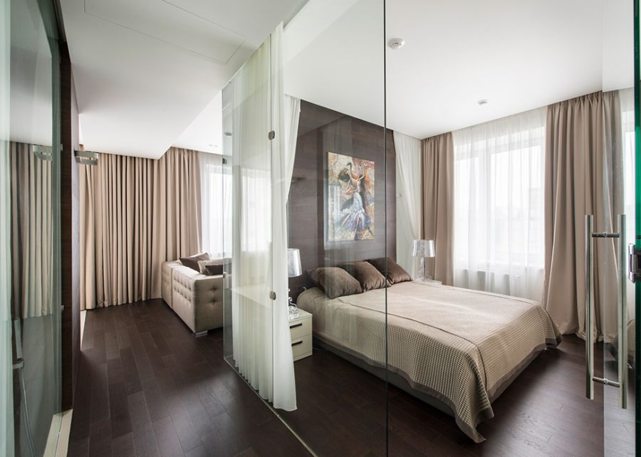 Glamorous Moscow Apartment Sizzles With Sophisticated Style