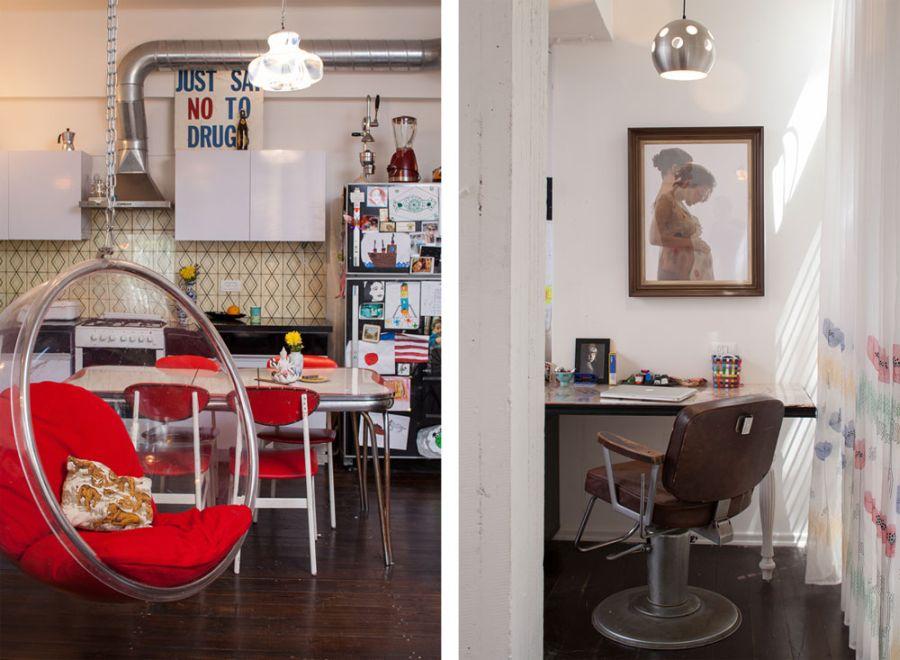 Stylish Tel Aviv Apartment Incorporates Nostalgic Retro
