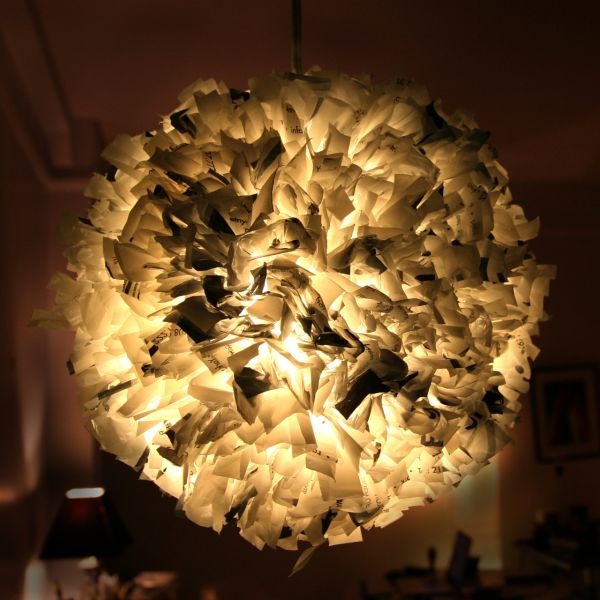 Recycled Pendant Lights