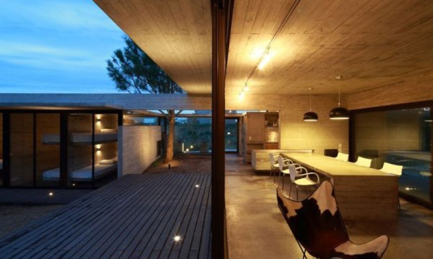 Sustainable Renovated African Home Indoor Outdoor Interplay