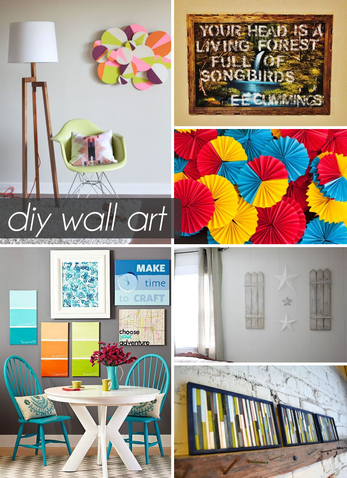 50 Beautiful Diy Wall Art Ideas For Your Home