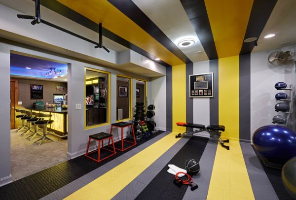 Best wall colors for home gym. wall color ideas for home gym