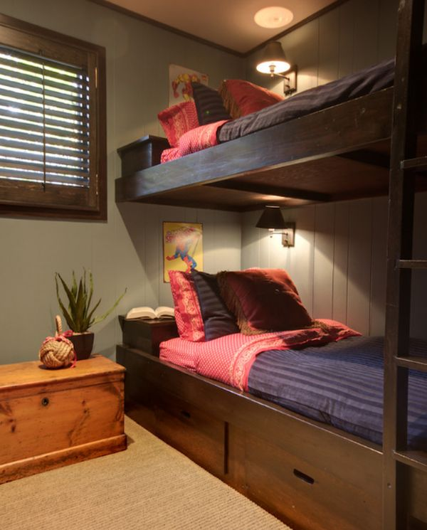lighting idea for bunk beds modern adult bedroom with stylish bunk