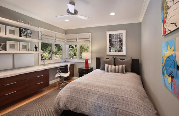 View In Gallery Modern Age Boys Rooms Trendy Muted Grey