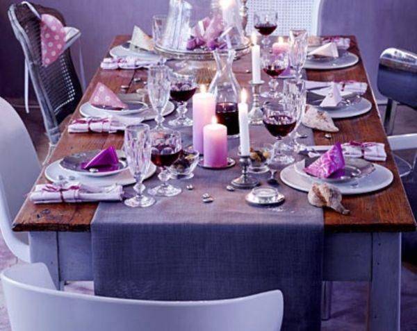16 Thanksgiving Decor Ideas In Purple