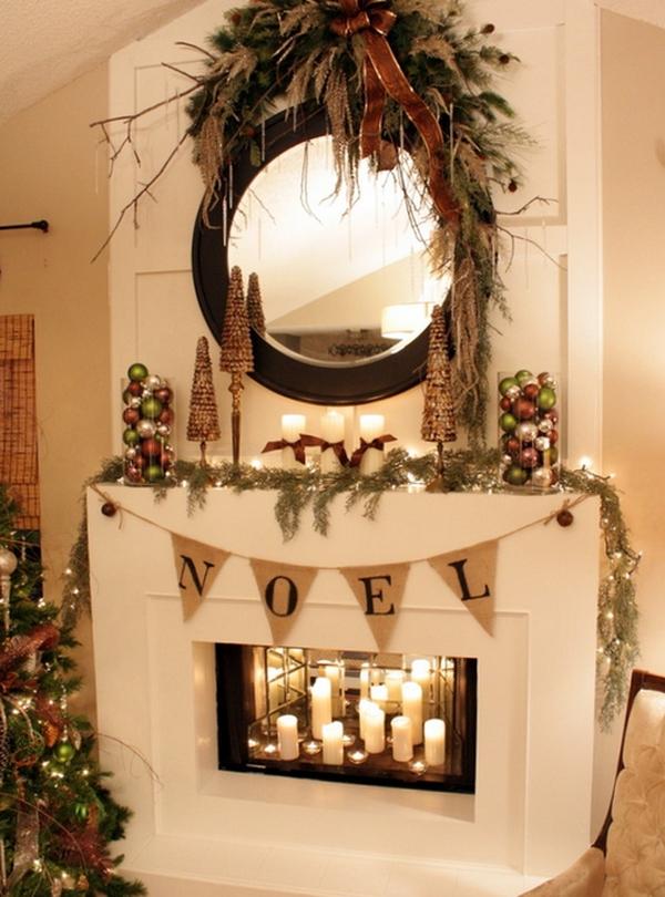 Ideas Stone Fireplace With Beautiful Mantel Decorating Inside Mantels
