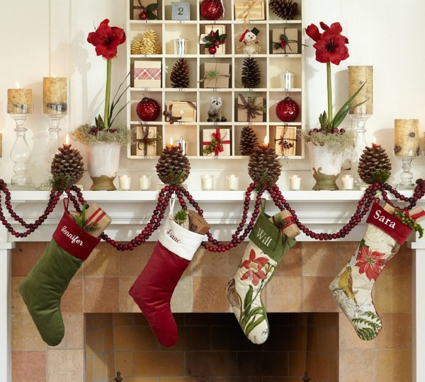 Fireplace Screen Modern Decorate Mantel For Christmas Decorations Supplies Small Living Room Decorating 550x367