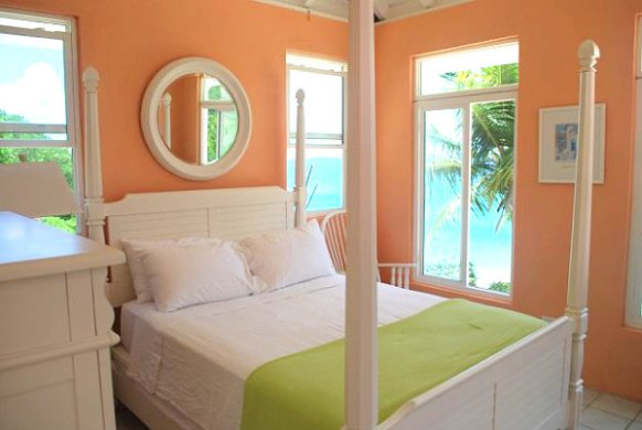 Stay Warm This Winter in a Tropical Bedroom View in gallery Peach tropical bedroom