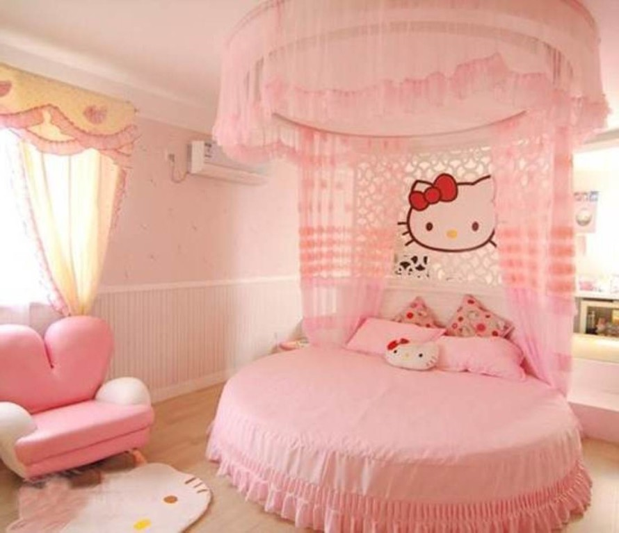 hello kitty girls room designs - Decoration Hello Kitty Chambre Bebe