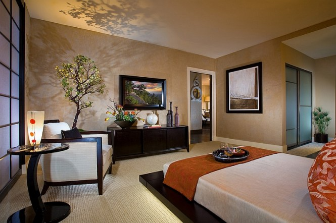 View In Gallery Another Look At The Serene Bedroom By International Custom Designs