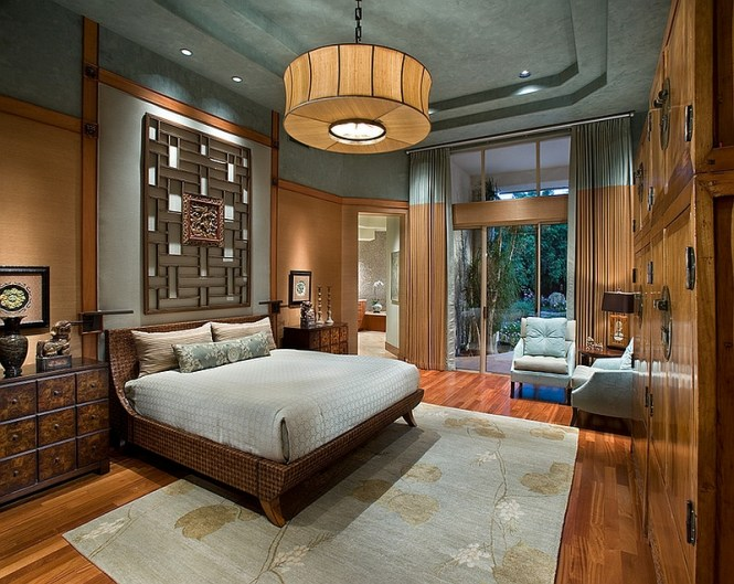 View In Gallery Exquisite Master Bedroom With An Asian Theme By Imi Design