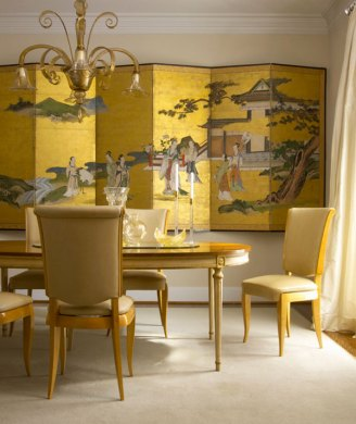 Elegant Decor Ideas Featuring Inspiration From Asia View in gallery Gold wall art for elegant homes