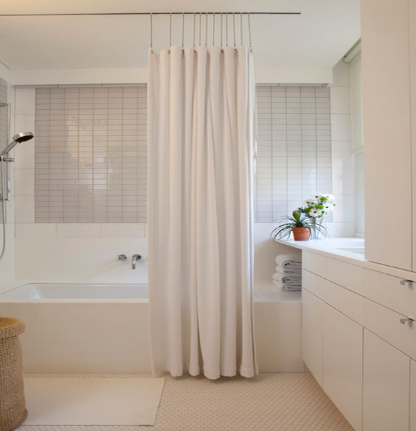 shower curtains made from burlap silk