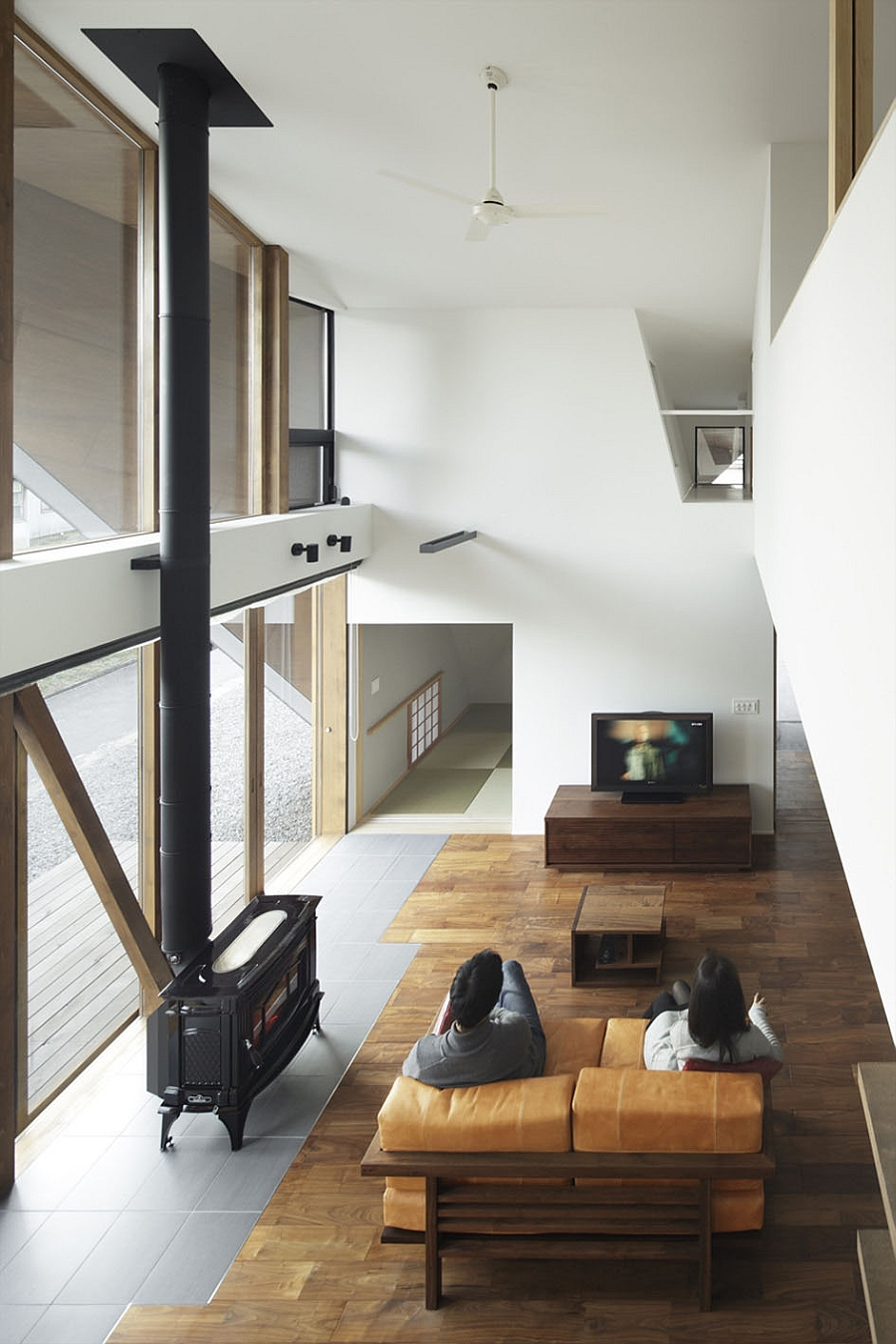 Creative Origami House In Japan Combines A Distinct