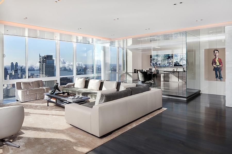 Scintillating Views And Smart Lighting Shape Posh