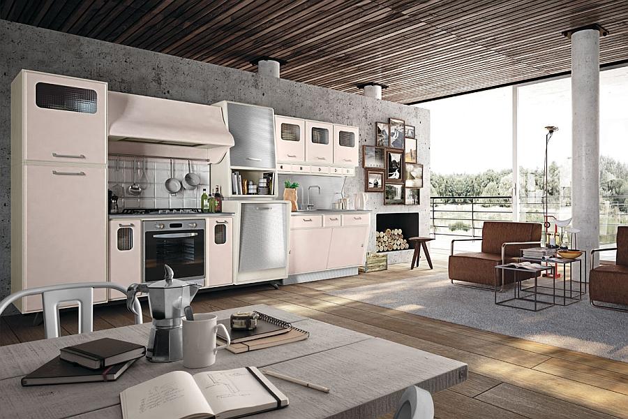 Kitchen Design 50s Style