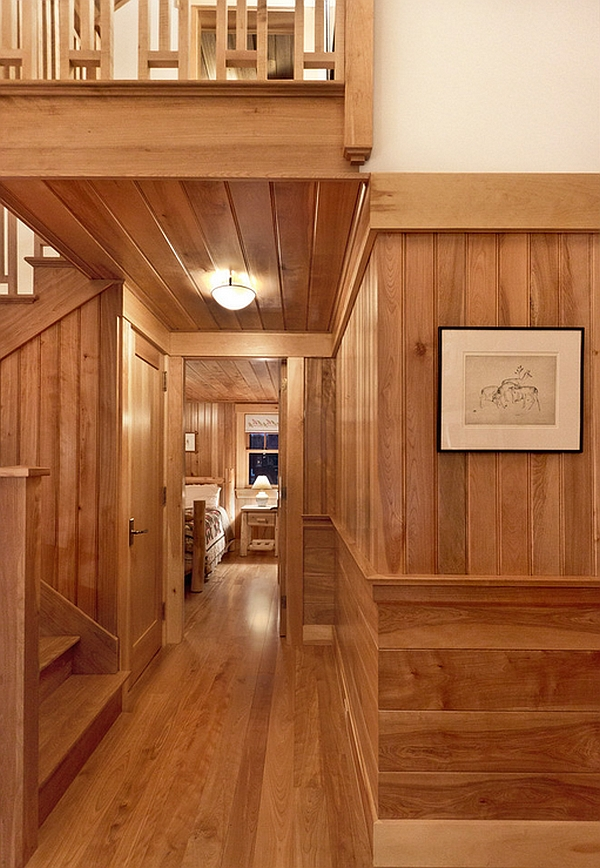 Cozy Cabin Retreat Combines Warmth Of Wood With A Bright