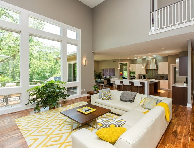Coolest Yellow Living Room Ideas On Small House Decoration With
