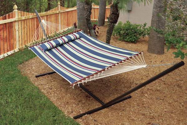 Striped hammock