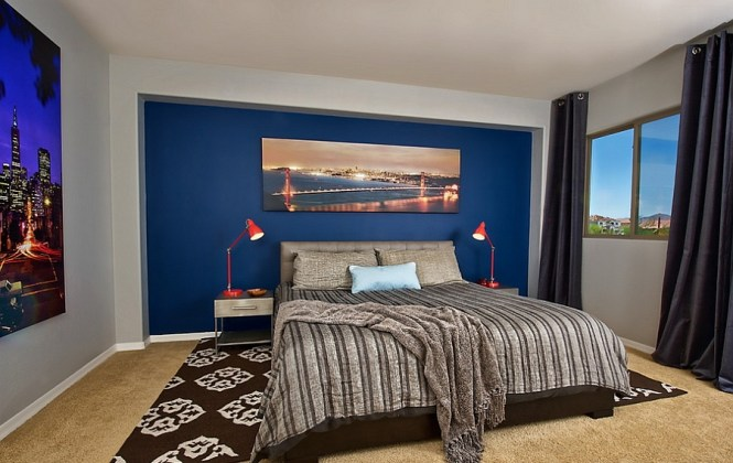 View In Gallery A Simple And Elegant Way To Create Masculine Bedroom That Is Both Trendy Relaxing
