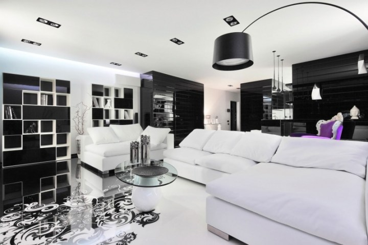 black and white living room decor. black and white living rooms design ideas room decor