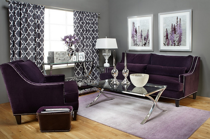 Aubergine makes a sophisticated and grand visual statement Hot Color Trends: Three Fashionable Hues That Serve You All Year Long Year Trends Three Serve Long Hues Fashionable Color