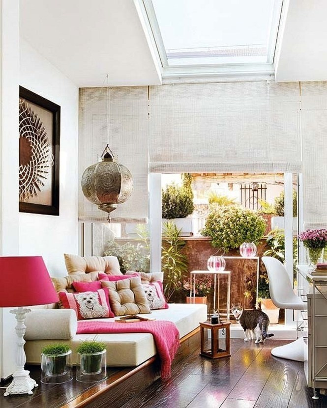 View In Gallery Add Moroccan Accents That Can Be Switched Out Easily Over Time