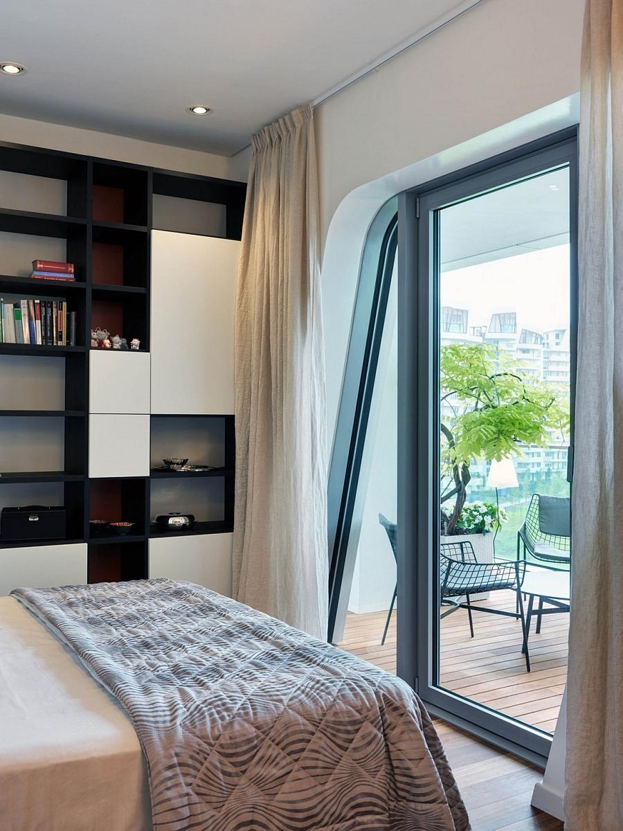 Exquisite Milan Apartment Blends Elegant Living Areas With
