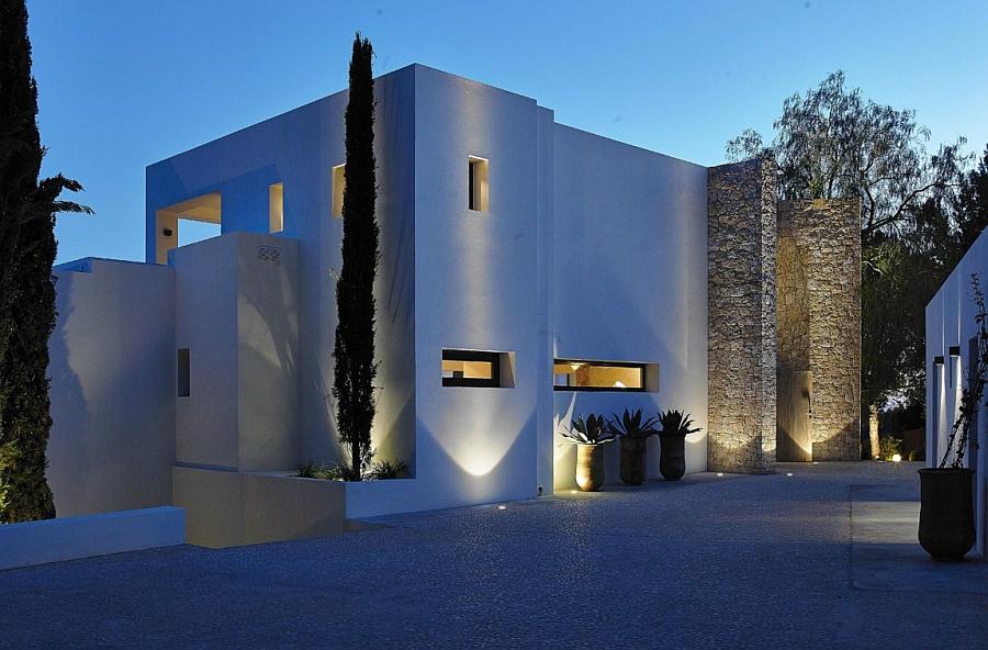Lavish Modern Villa In Ibiza Minimalist Design Mediterranean Views