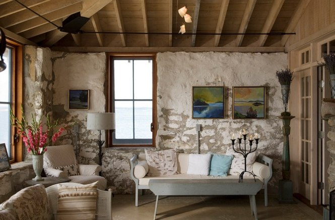 View In Gallery Add A Flea Market Find To Give The Rustic E More Authentic Look Design