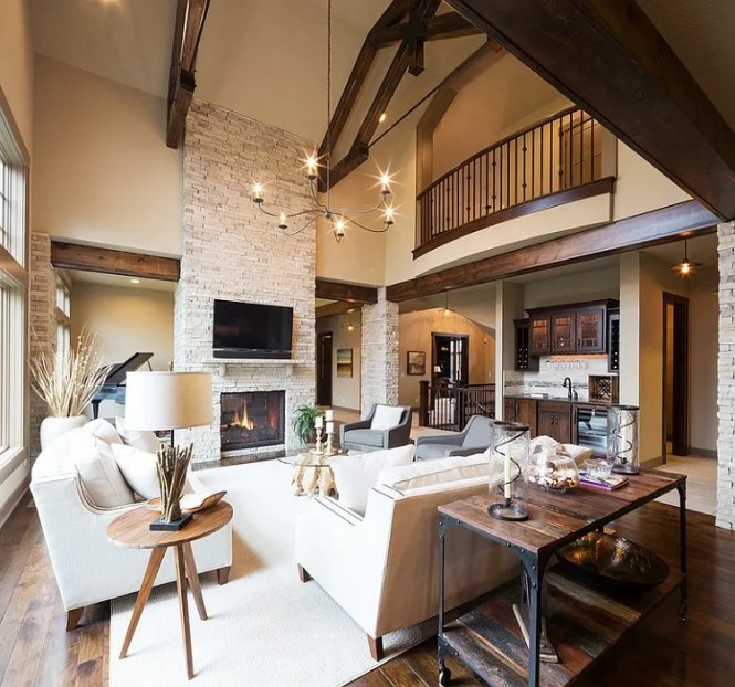 Fascinating Warm Cozy Living Room Decorating Traditional Candheliers Contemporary